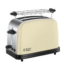 russell hobbs retro toaster test